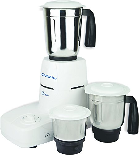 Crompton Diva DS51 Mixer Grinder with 3 Jars (500 Watts)