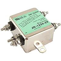 Filtro JR-1220-2X Tornillo Ternimals de la línea eléctrica de ruido EMI