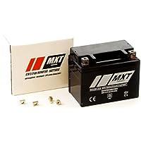 Maxtuned SLA4L-BS Rollerbatterie 12V 5Ah Vorgeladen Versiegelt Wartungsfrei vergleichbar YTX5L-BS YB4L-B YTX4-BS