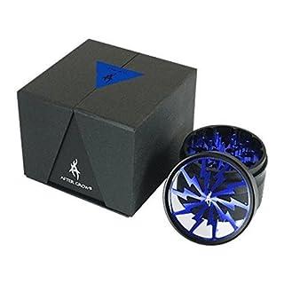 Nach Grow ® Thorinder Kräutermühle 4 teilig, 6,4 cm (2,5 Zoll), Blau