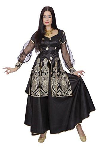 Wilbers Damen Kostüm Bollywood Tänzerin Inderin Karneval Gr.46