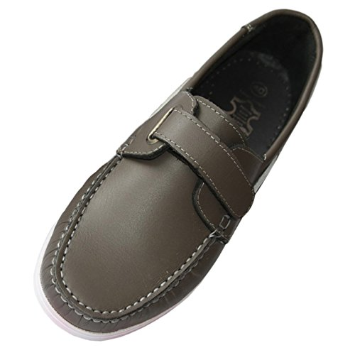 Beverly Originals Chaussures Bateau Cuir Homme Men's Casual Klett grau