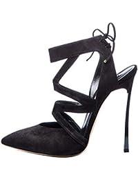 LL De las mujeres Puntiagudo Dedo del pie cerrado Tacon alto Sandalias  Cruzar Vendaje Slingback Buen tacon alto Sandalias Zapatos… eca423f6e178