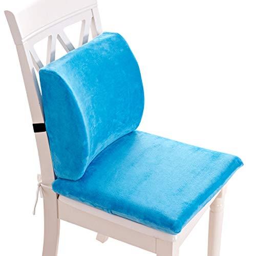 DADAO Stuhl Polster für bürostühle Support für Bett rückenlehne Memory-Schaum Comfy & therapeutische-H 40x40cm(16x16inch)