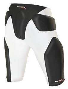 Komperdell Airshock 6043 211 Short de protection Homme Blanc/Noir XS