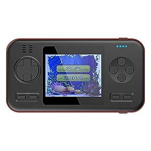 HJL Retro Mini Game Player, Handheld-Spielgerät Built-in 416 Spielen 3.0 Zoll großen Bildschirm 8000mAh Lithium-Batterie 2.1A Doppel-USB-Ausgang