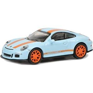 Schuco Porsche 911 R Previamente montado Modelo a Escala de Coche Deportivo 1:87 - Modelos de vehículos de Tierra (Previamente montado, Modelo a Escala de Coche Deportivo, 1:87, Porsche 911 R, Azul)