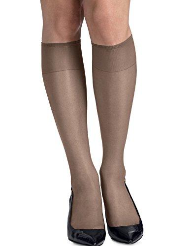 Hanes Silk Reflections Women`s Silky Sheer Knee Highs, RT - Best-Seller, 00775