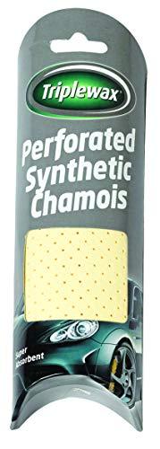 Triplewax CTA155 Chamois synthétique perforé