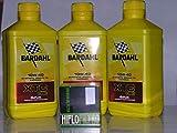 3 LT OLIO motore 4t BARDAHL BARDHAL XTC C60 10W40 + FILTRO OLIO