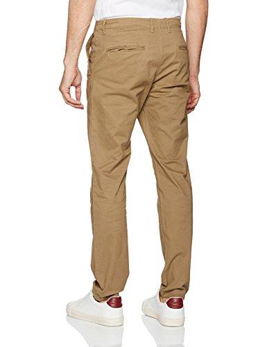 Jack & Jones Jjimarco Jjenzo Tan Ww 420 Noos, Pantalon Homme Marron (Tan)