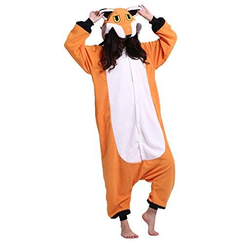 it Schlafanzug Tier Onesies Sleepsuit mit Kapuze Erwachsene Unisex Overall Halloween Kostüm Jumpsuit (Vorhanden Halloween-kostüm)