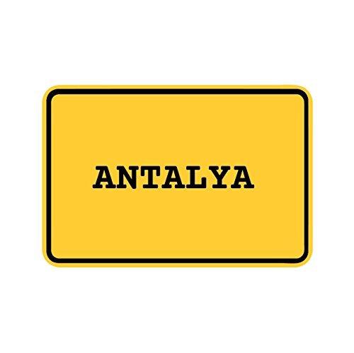 Preisvergleich Produktbild JOllify Aufkleber - ANTALYA – Farbe: Design: Ortsschild