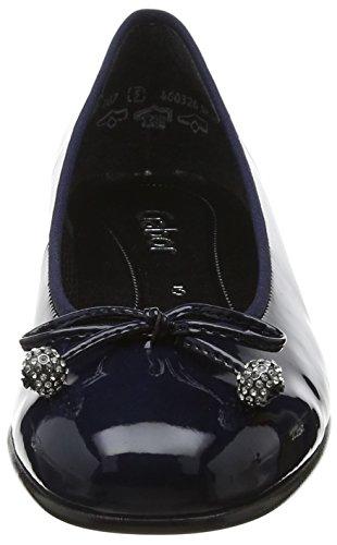 Gabor Damen Basic Geschlossene Ballerinas Blau (Marine)
