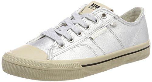 British Knights Damen Chase Sneaker, Silber (Silver), 39 EU