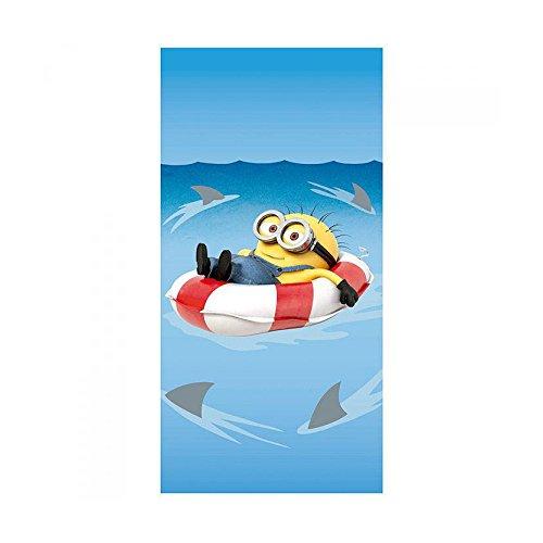 toalla-playa-minions-sharks-microfibra