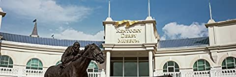 Panoramic Images – Facade of the Kentucky Derby Museum Churchill Downs Louisville Kentucky USA Photo Print (68,58 x 22,86 (Churchill Derby Downs)