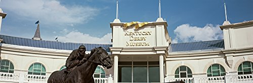 Panoramic Images – Facade of the Kentucky Derby Museum Churchill Downs Louisville Kentucky USA Photo Print (68,58 x 22,86 cm) (Museum Derby Kentucky)