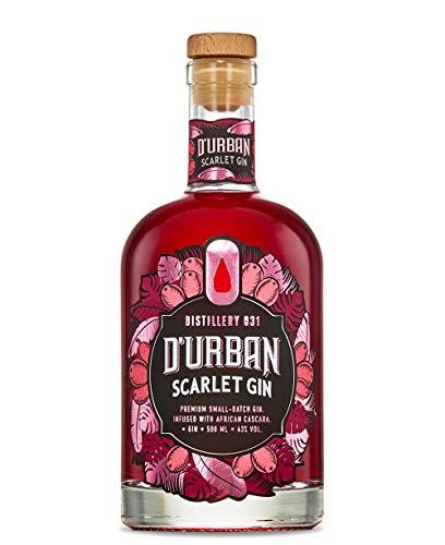 D'Urban Scarlet Gin | Gin aus Südafrika | capegin | Gin aus Kapstadt | Gin aus Kaffeekirschen | Pinker Gin