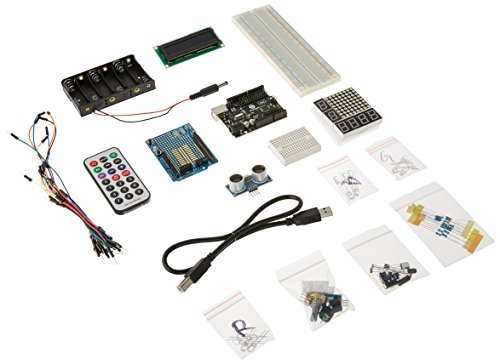 SainSmart UNO R3 + Distanzsensor Starter Kit mit 19 Basic Arduino Projekten Set / Kit für Arduino - Elegoo UNO Projekt Das Vollständige Ultimate Starter Kit, Uno R3 Mikrocontroller und viel Zubehör für Arduino UNO R3