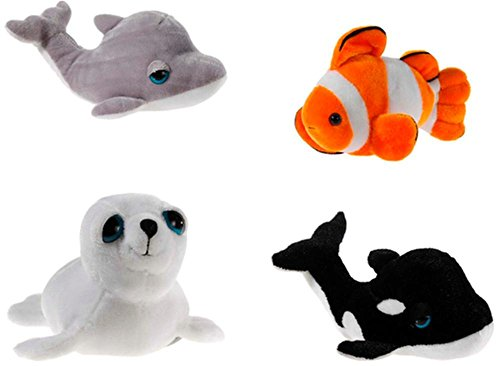 Heunec 971578Artico assortimento di animali marini 4modelli assortiti