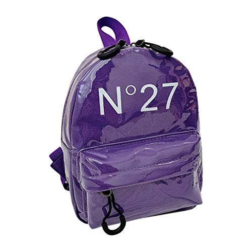 Mitlfuny handbemalte Ledertasche, Schultertasche, Geschenk, Handgefertigte Tasche,Kinderrucksack New Simple Parent Bag Kindergeldbeutel-Set für Kinder -