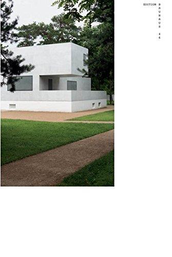 Neue Meisterhäuser in Dessau: Edition Bauhaus 46