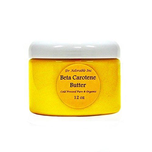 Beta Carotene Butter Cold Pressed Pure & Organic 12 Oz
