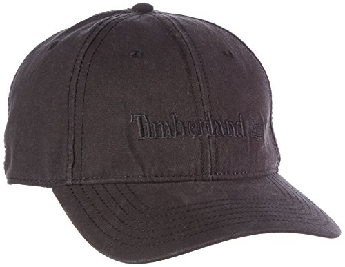 Timberland Herren TH340257 Black Baseball Cap, Schwarz 1), One size (Herstellergröße: 1FM) (Timberland Hat)