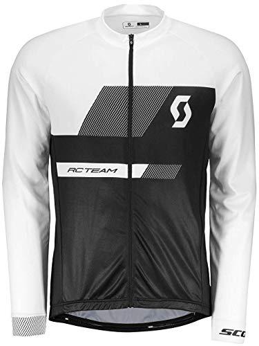 Scott RC Team 10 Fahrrad Trikot lang schwarz/weiß 2018: Größe: XL (54/56)