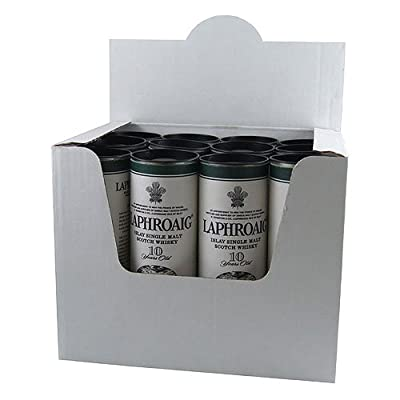 Laphroaig 10 year old Single Malt Scotch Whisky 5cl Miniature - 12 Pack from Laphroaig