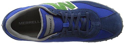 Scarpe blue Green da Sprint Arrampicata Blast Multicolore J598155 Merrell Suede Uomo twHqftB