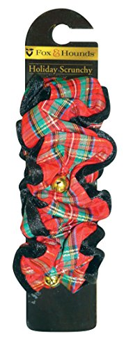 Fox & Hounds Jingle Bell Santa Haargummi, extra groß, rot