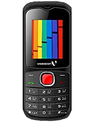 VIDEOCON V1390 MOBILE PHONE (BLACK&RED)