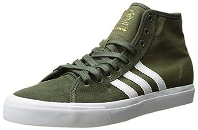 adidas Herren Matchcourt Mid Skateboardschuhe schwarzweiß