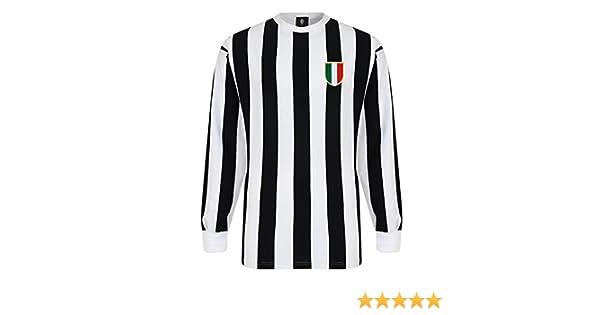 e3b5ea166 Official Retro Juventus 1952 Retro Football Shirt: Amazon.co.uk: Sports &  Outdoors