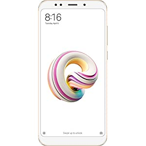 "Xiaomi Redmi 5 - Smartphone OF 5.7"" HD+ (14 NM Snapdragon Octa-Core, 16 GB, 12 MP, Android) Color Gold [Spanish version]"