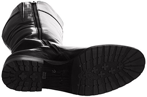 Gabor Dary Wide L, Boots femme Noir (Black Leather)