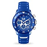 Ice-Watch - ICE aqua Marine - Blaue Herrenuhr mit Silikonarmband - Chrono - 001459 (Medium)