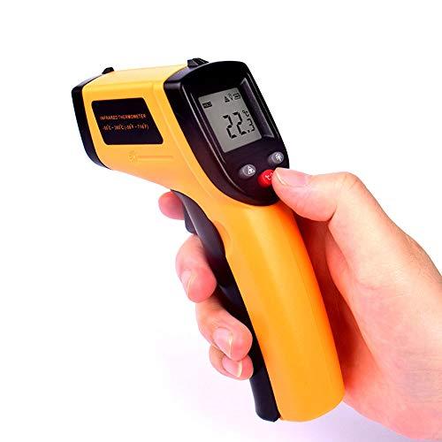YBZS Termómetro Infrarrojo, con El LCD Sin Contacto Láser Digital Termómetro Infrarrojo, -50 ° C...