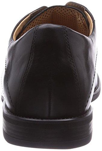 Ganter GREG, Weite G, Derbies à lacets homme Multicolore - Mehrfarbig (schwarz 0100)