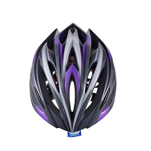 Fahrradhelm, Fahrrad - Helm, Mit Helm, Integrierten Helm - Straße - Helm,Lila,Einheitliche Kodex