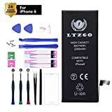 LTZGO 2200mAh Battery Compatible with iPhone 6, High Capacity Lithium ion Replacement Battery