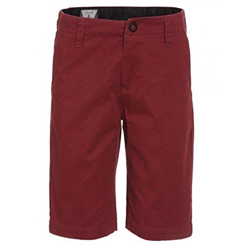 Volcom Pantaloni corti da uomo sfaccettati C0931402CMS Crimson 22