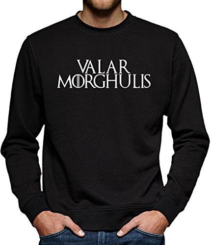 TLM Valar Morghulis Sweatshirt Pullover Herren S (S Kostüm Nerd 80)