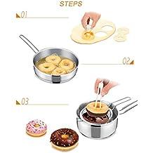 Xinxinyu Kuchenform, DIY { Bäckerei Kuchenform } { Kunststoff Kuchen Fondantform } { Fried Donut Maker Cutter }