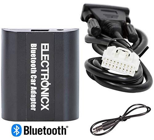 Electronicx Elec-BTA-MAZ1 Digitaler Musikadapter Bluetooth Freisprechanlage Musik Streaming Adapter AUX, (USB) für Mazda