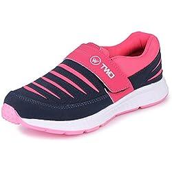 TRASE Women's Navy/Pink Running Shoe - 5 Ind/UK