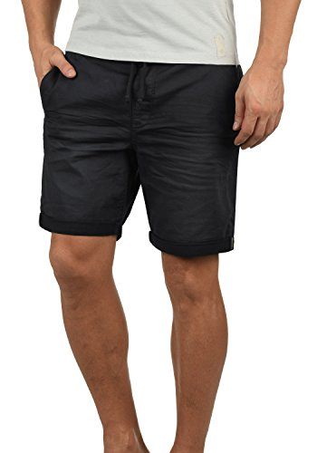 BLEND Dongo Herren Jeans-Shorts kurze Hose Denim aus hochwertiger Baumwollmischung, Größe:XL, Farbe:Black (70155) Herren-skinny-leder-jeans