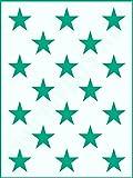 Muster-Schablone Sterne 04 für Hintergründe auf Wand - Möbel oder Textilien